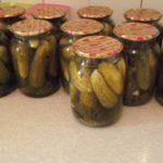 Маринованные кабачки и огурцы быстрого приготовления